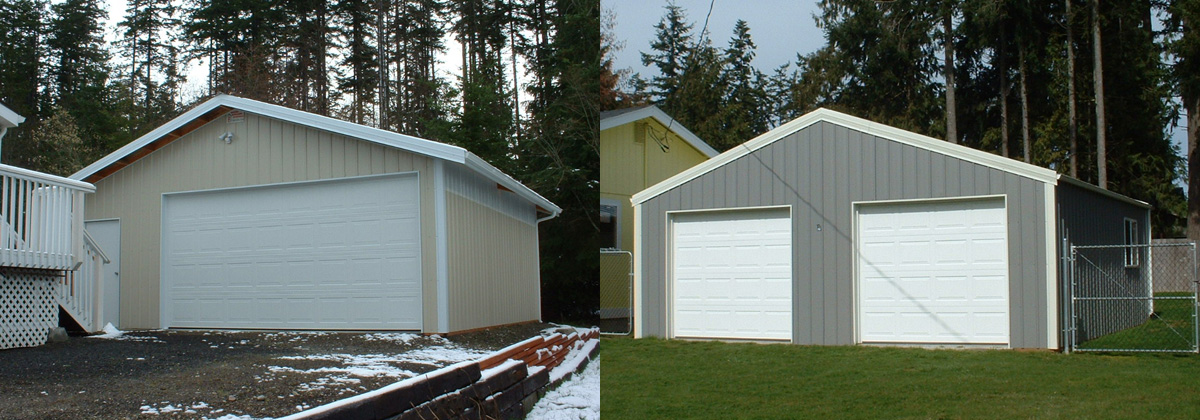 Garages in Port Hadlock and Port Townsend