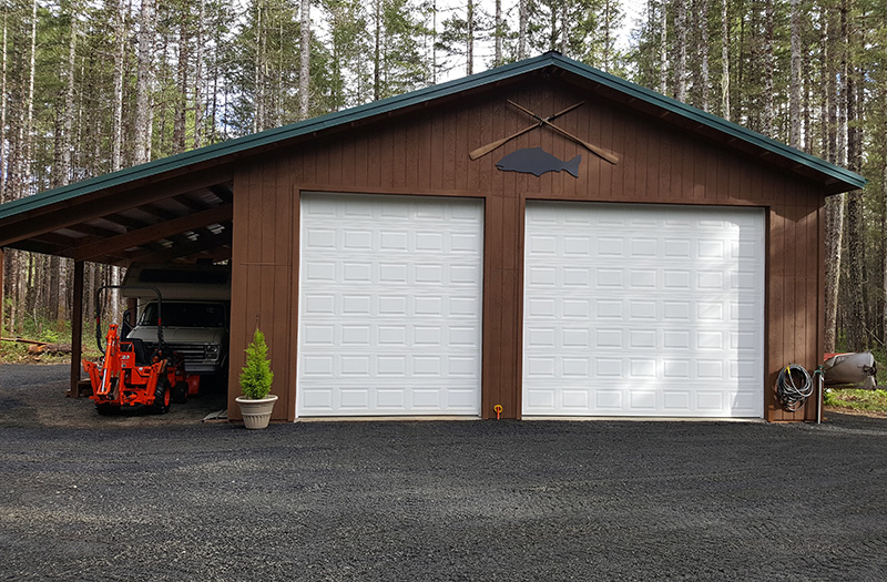 Gallery sound building systems for 2 bay garage